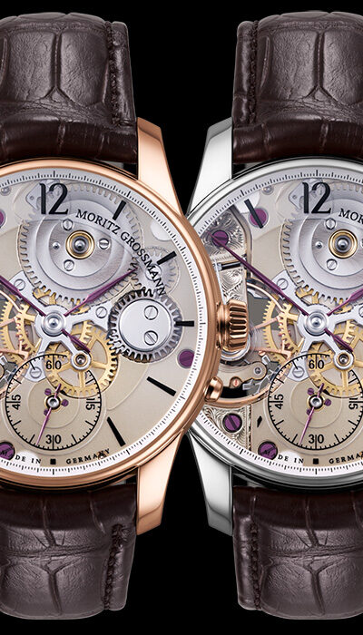 with Sapphire crystal dial