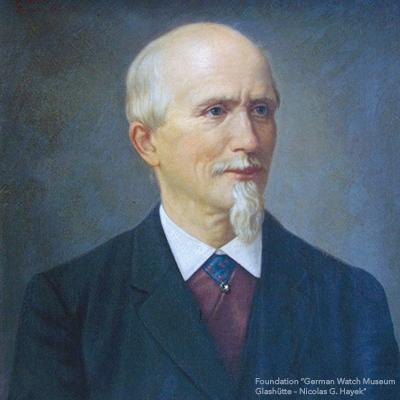 Portrait von 莫里茨·格羅斯曼